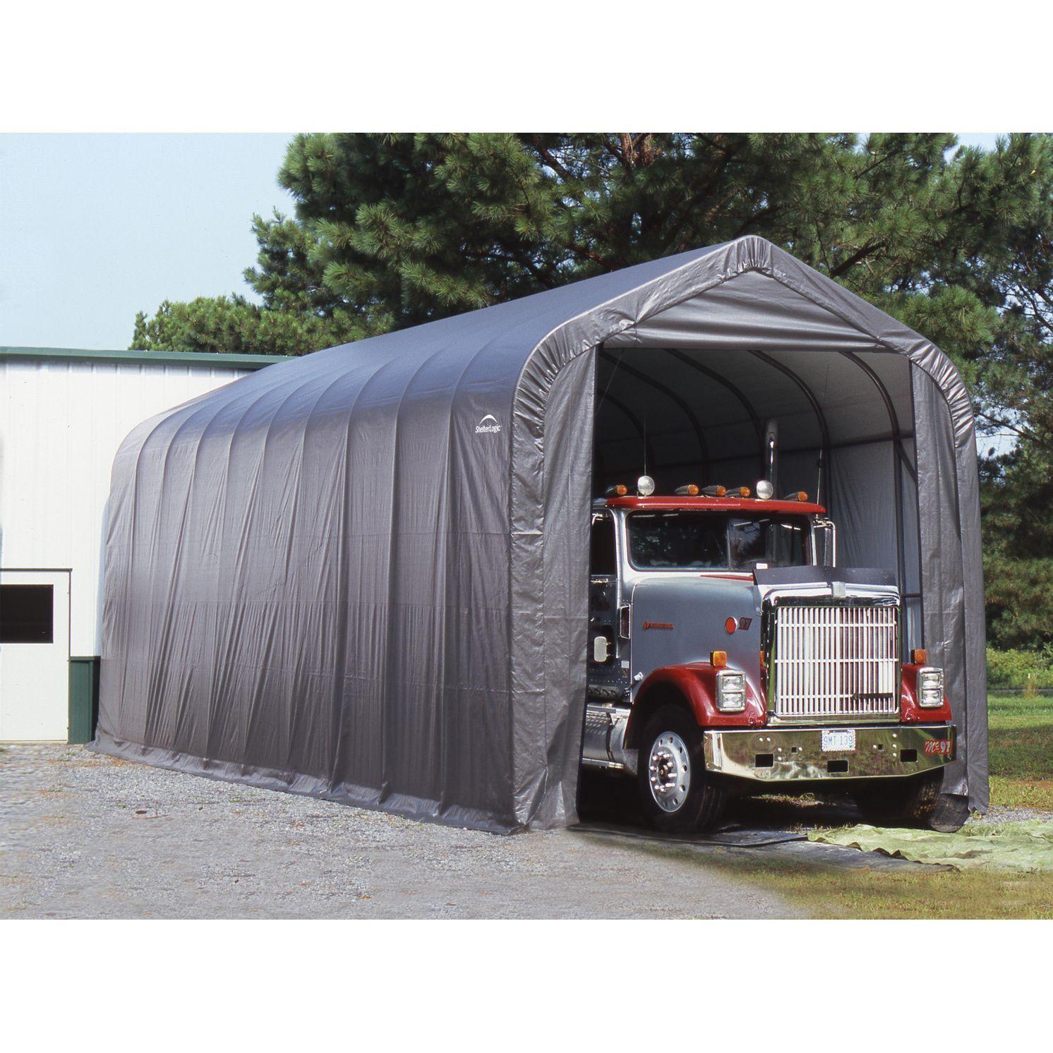 ft and farm garage fleet shelterlogic tent shed a in storage box wayfair st x sc