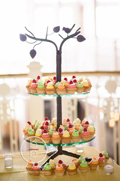 Orchid Garden at Church Street Florida Themed Wedding Sweet Treats Photography By: @orlandowedding  Entertainment and Lighting by: @WhiteRoseEnt