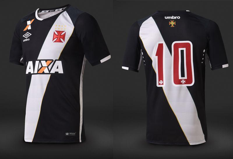 cfc83f00f32fc Camisas do Vasco da Gama 2016-2017 Umbro Preta