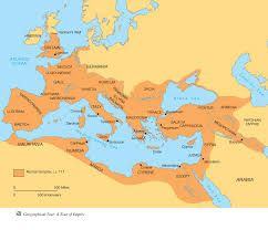 height of roman empire map This Is A Map Of The Roman Empire At It Height It Was Controlled From A Central Authority And Ruled Almost The Ent Roman Empire Map Roman Empire Roman History height of roman empire map