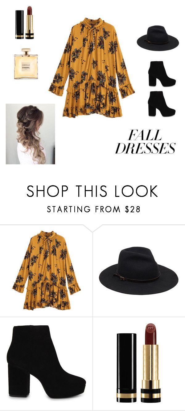 """""""Fall Style"""" by r4ke on Polyvore featuring moda, ALDO y Gucci"""