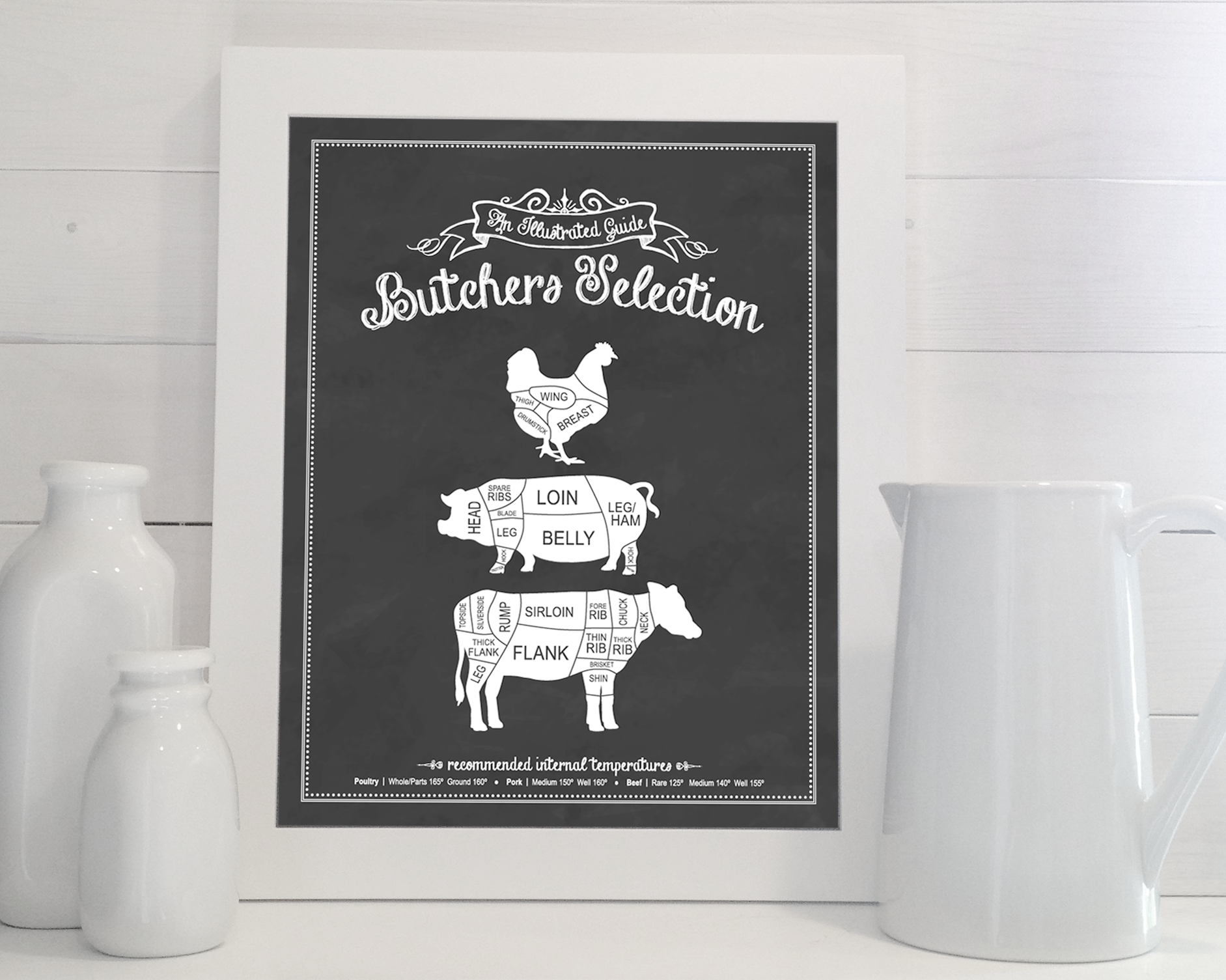 Love this Butcher s Selection print by Kelly Bernal For the