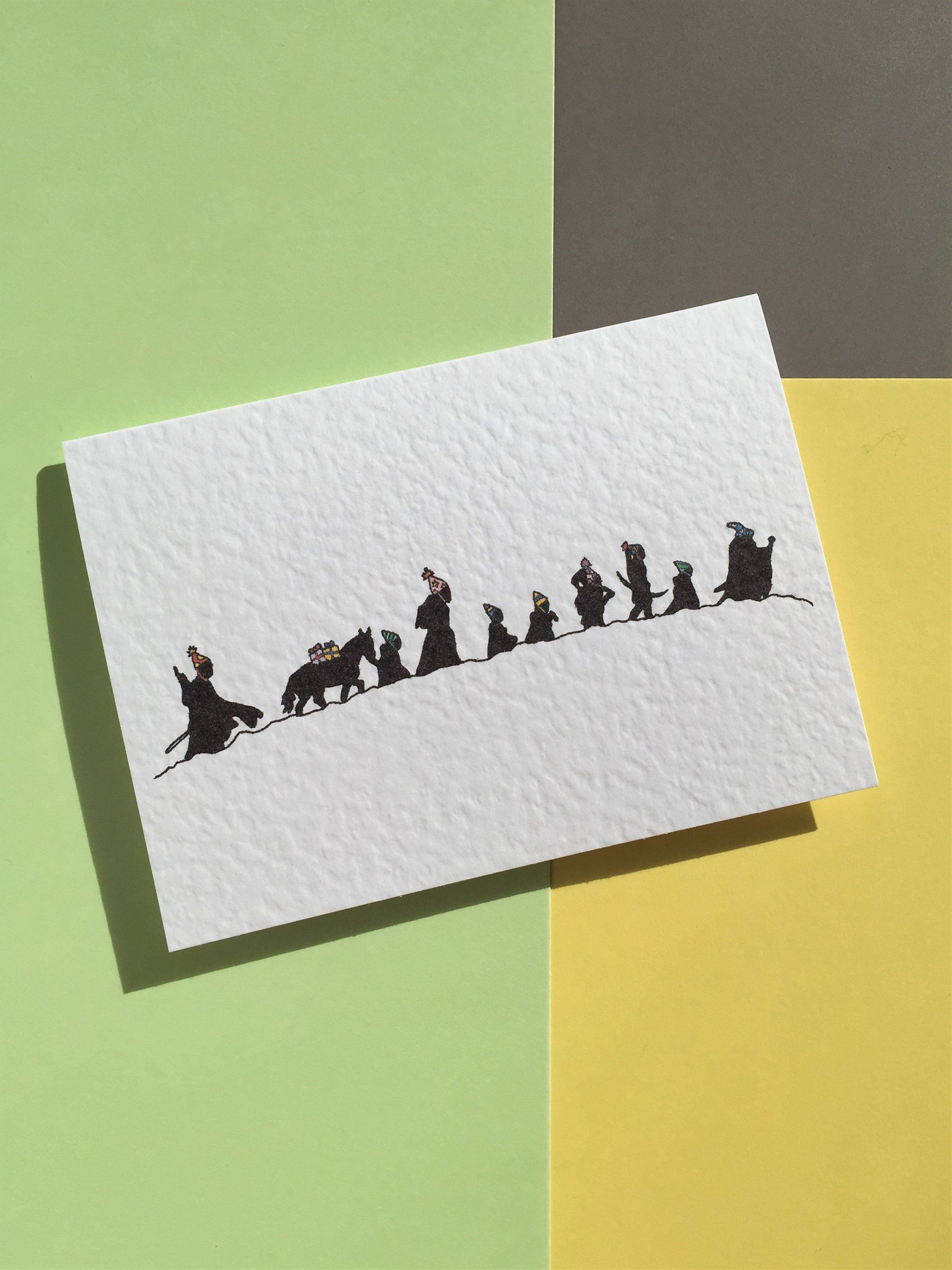 Lord Of The Rings Birthday Card Pop Culture Herr Der Ringe