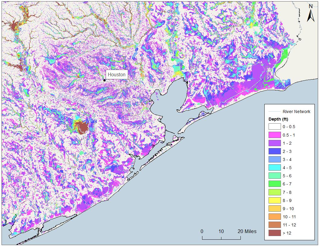 Harvey Now Driving Catastrophic Flooding Across Houston Metropolitan