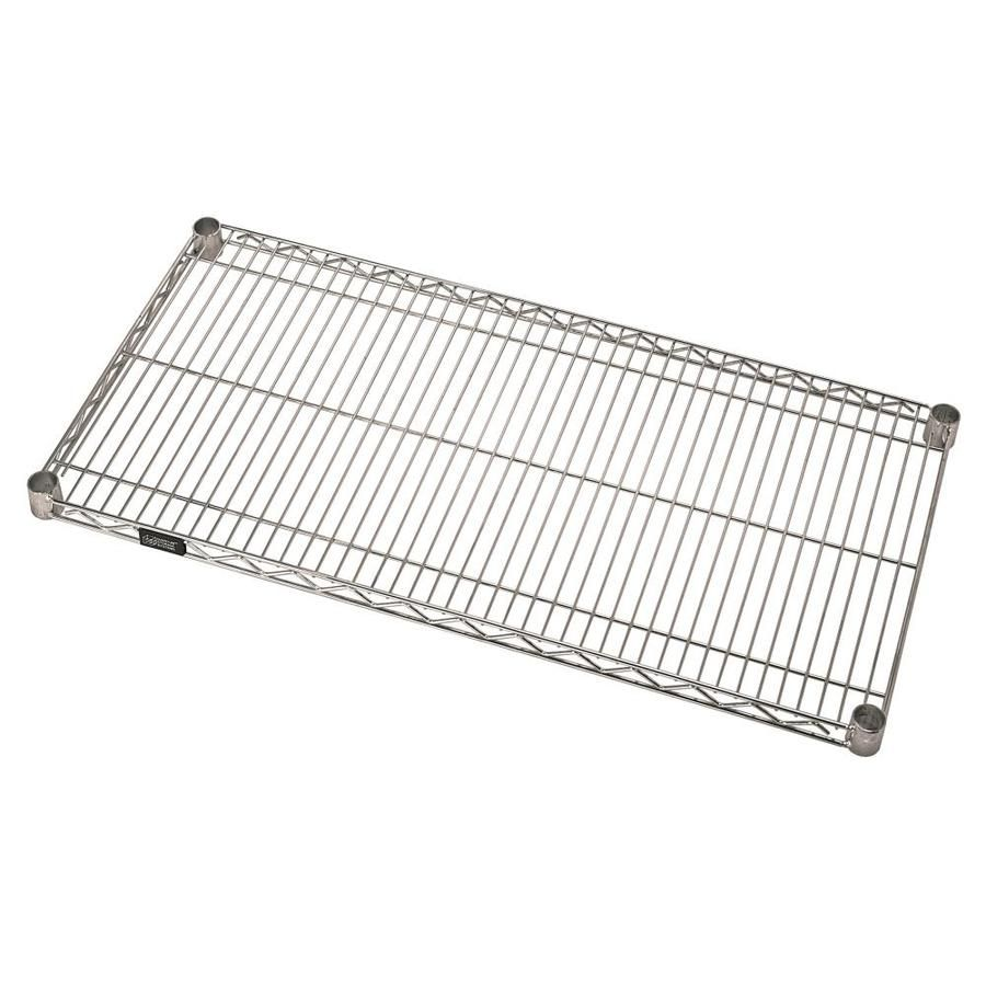 Quantum Storage Systems 12 In W X 36 In L Shelf Stainless Steel 1236s In 2020 Wire Shelving Shelves Storage