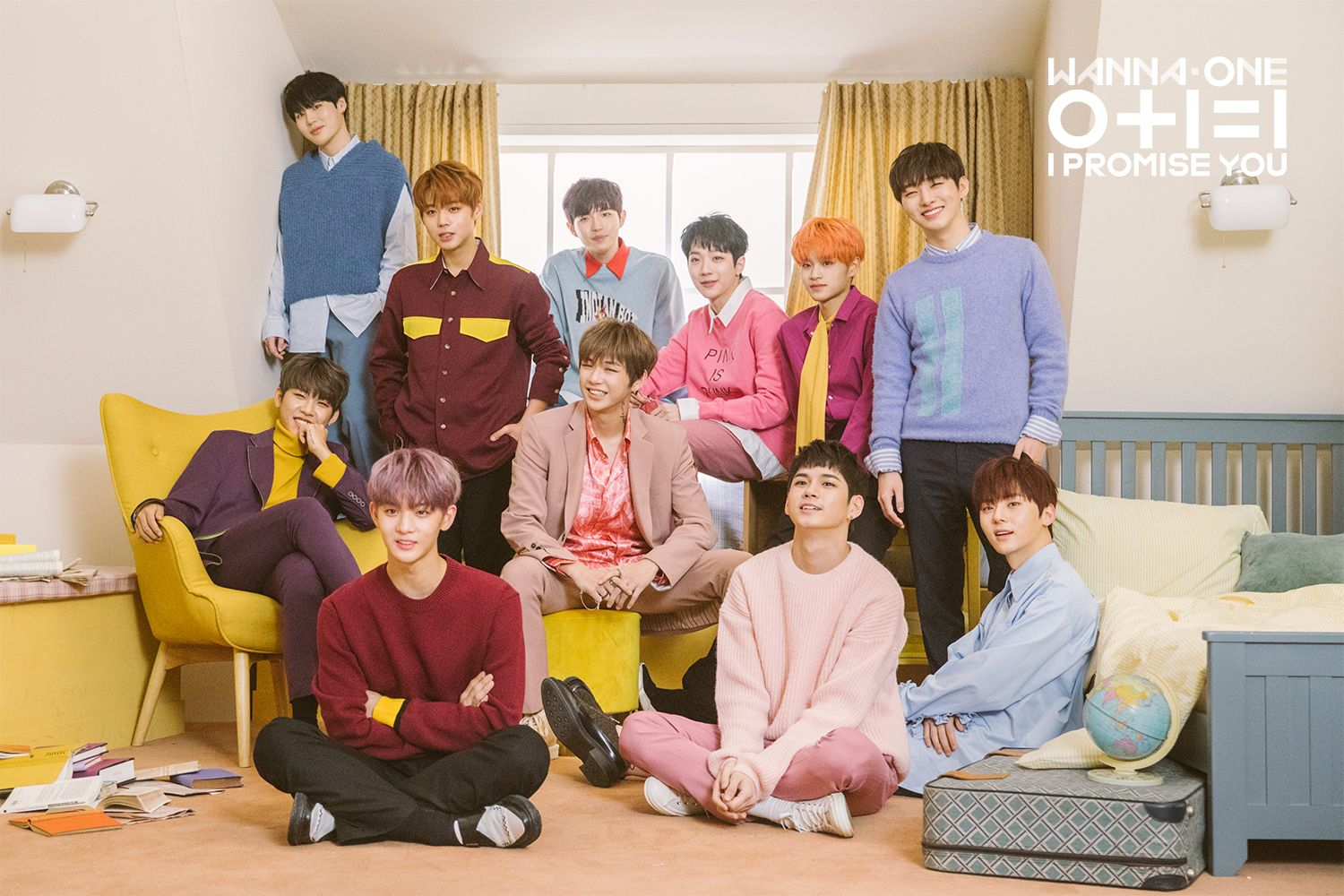 Wanna One I Promise You 0 1 1 Day Version Photoshoot Kenangan