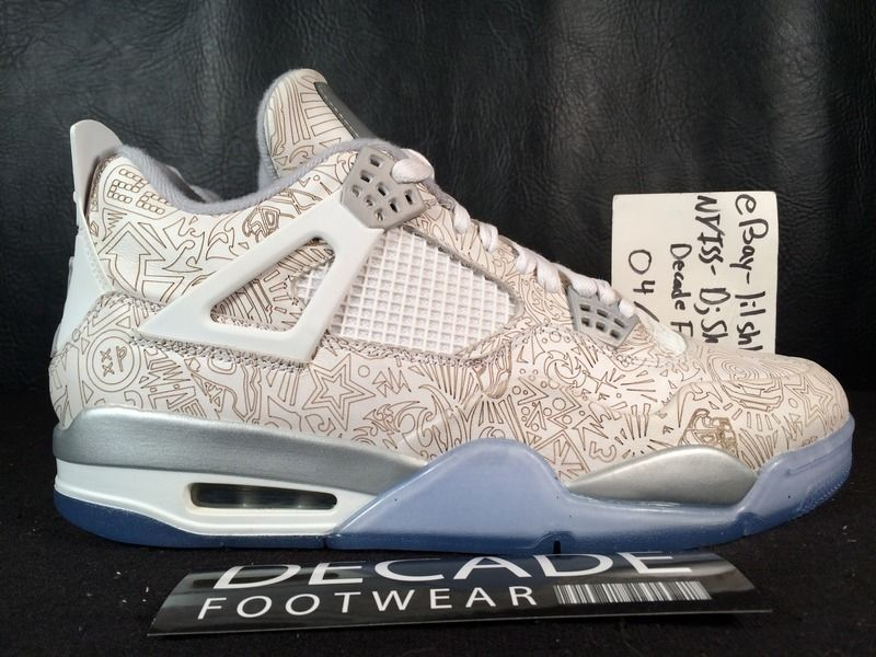 47a397ca4f0f Decade Footwear Is Selling The Air Jordan 4 Laser For  160 ...