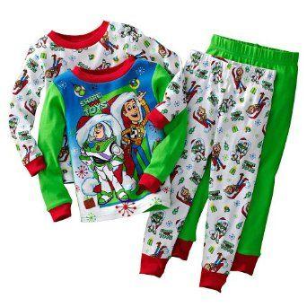 755cdc53e Disney/Pixar Boys Toy Story Holiday Pajama Set   Wishes   Holiday ...