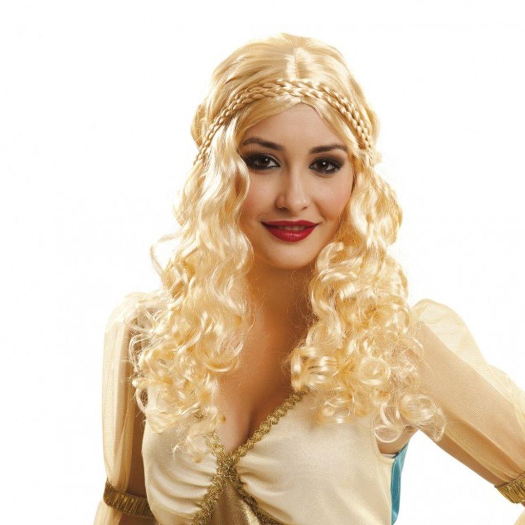 Peluca de Reina Dragon perfecta para complementar tu disfraz ... c685d87ee14