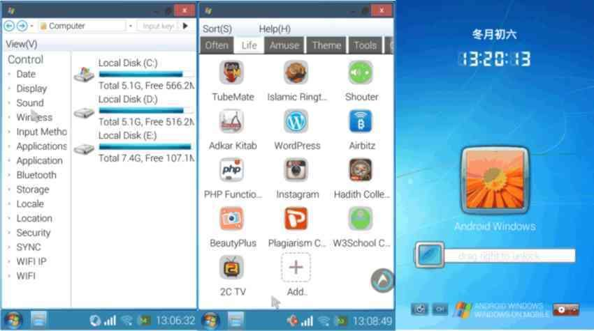 How To Change Your Android Phone Interface To Windows 7 Ineterface