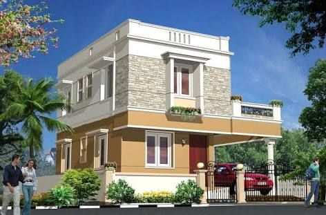 Image Result For Parapet Wall Designs Exterior Wall Cladding House Exterior House Architecture Design