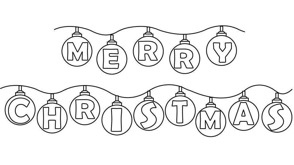 Pin by Hyeeun Kim on 크리스마스 | Merry christmas coloring ...