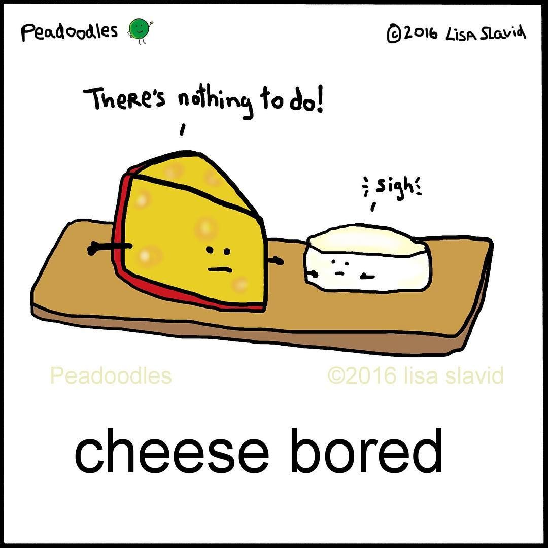 Cheese dating puns