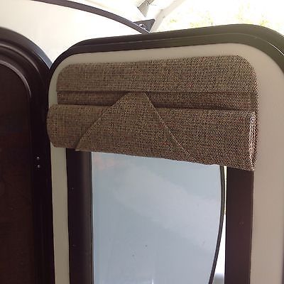 16 X 24 Camper Door Window Shade Blind Rv Teardrop Trailer Room Darkening Tan Camper Blinds Window Shades Windows And Doors