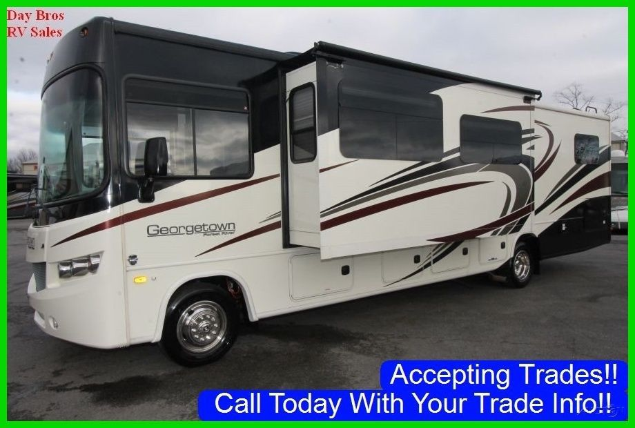 2017 forest river 351ds used class a gas rv