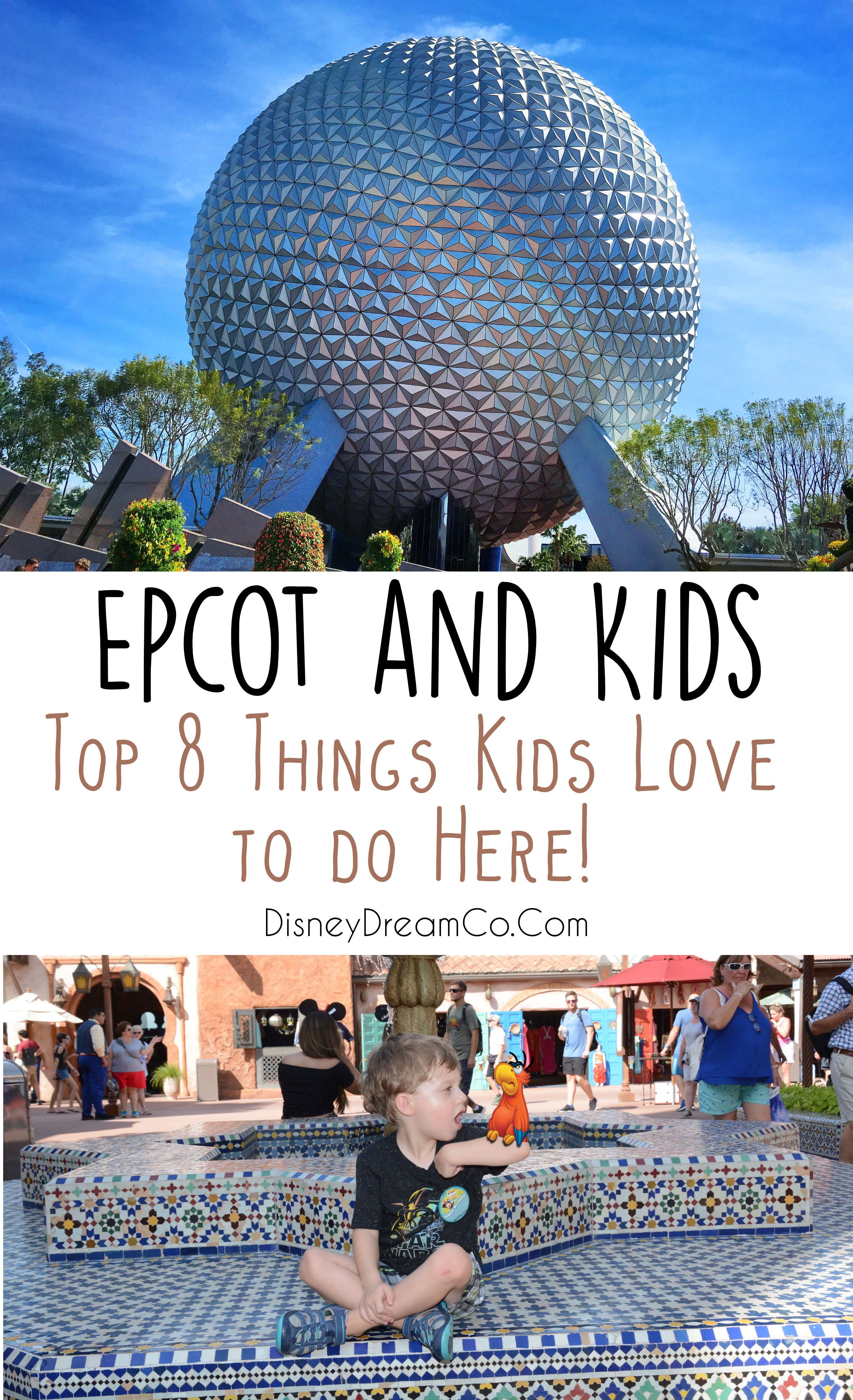 Photo of Epcot is a great park for kids! It's not just for adults. Wi…