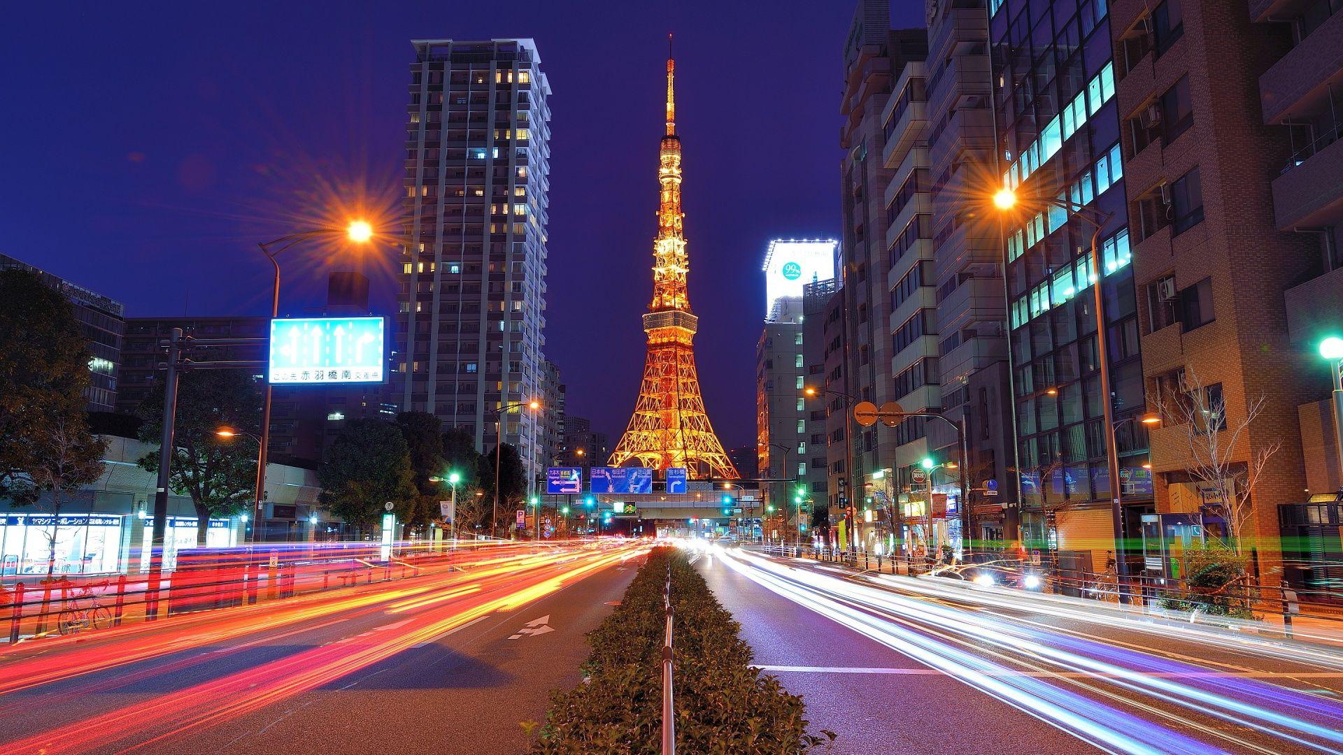 City Wallpaper Tokyo Night Wallpaper Hd Resolution Free Download Tokyo Tower City Wallpaper Tokyo Night