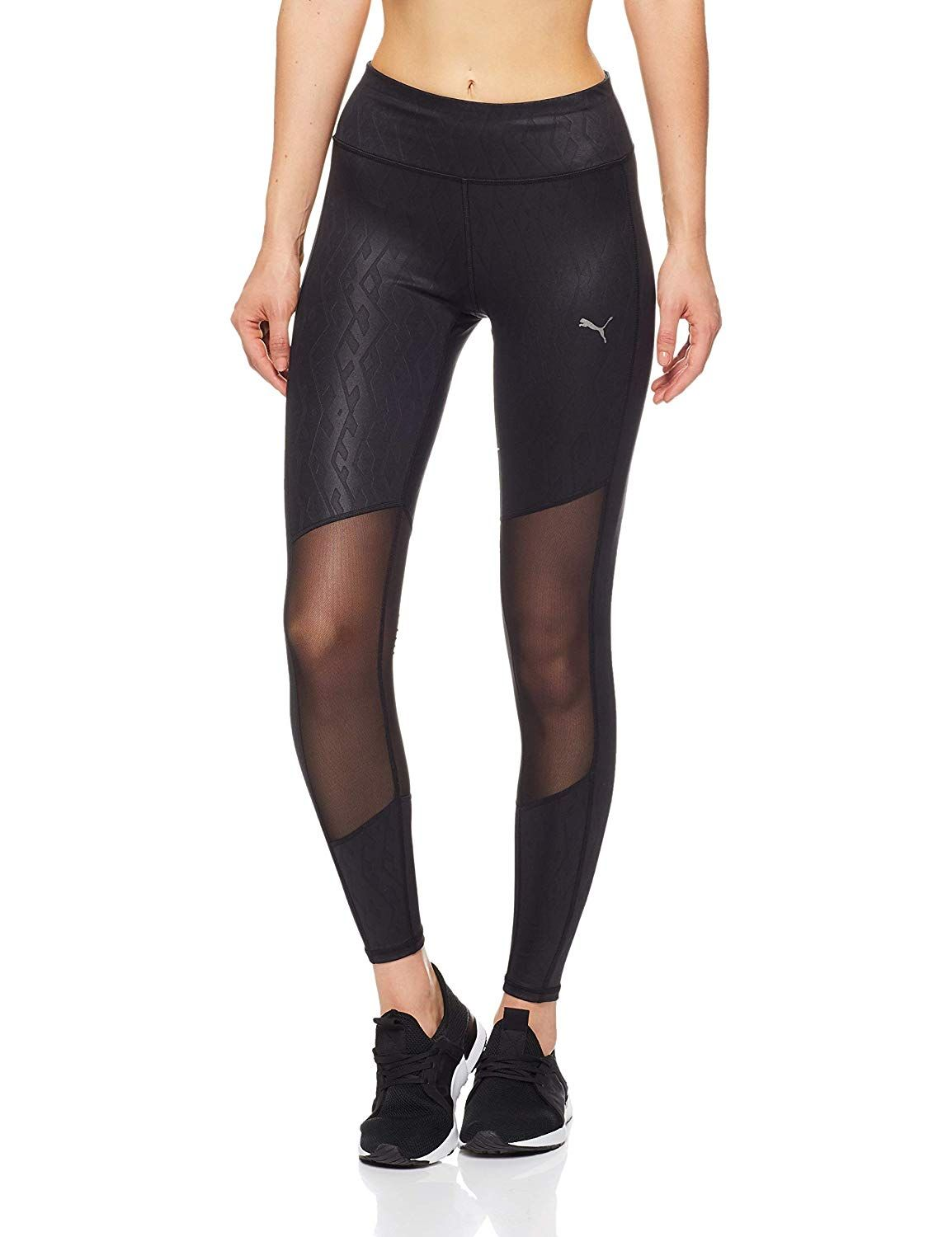 d962de62a8836 Puma Women's Always on Graphic 7/8 Tight Pants: Amazon.co.uk: Sports ...
