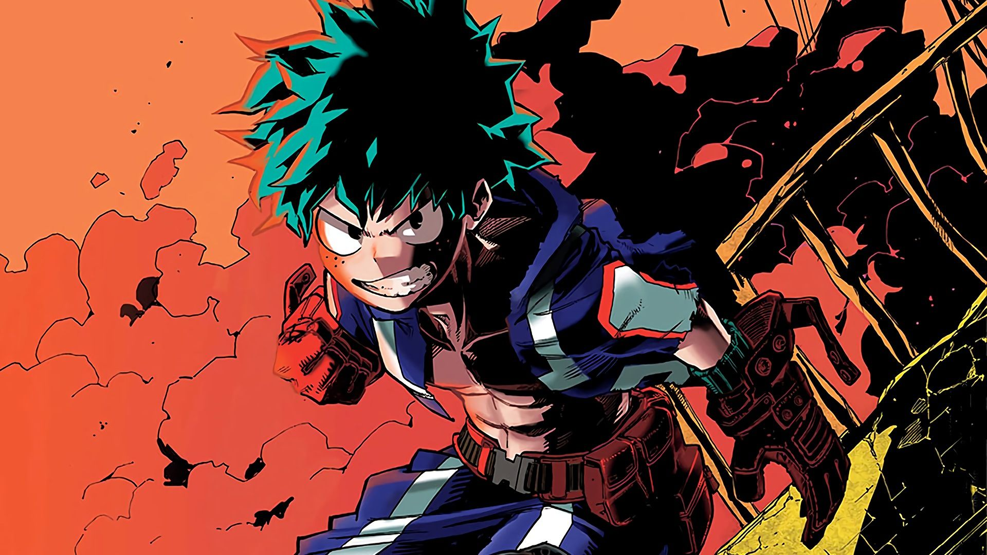 Pin En My Hero Academia One For All All For One