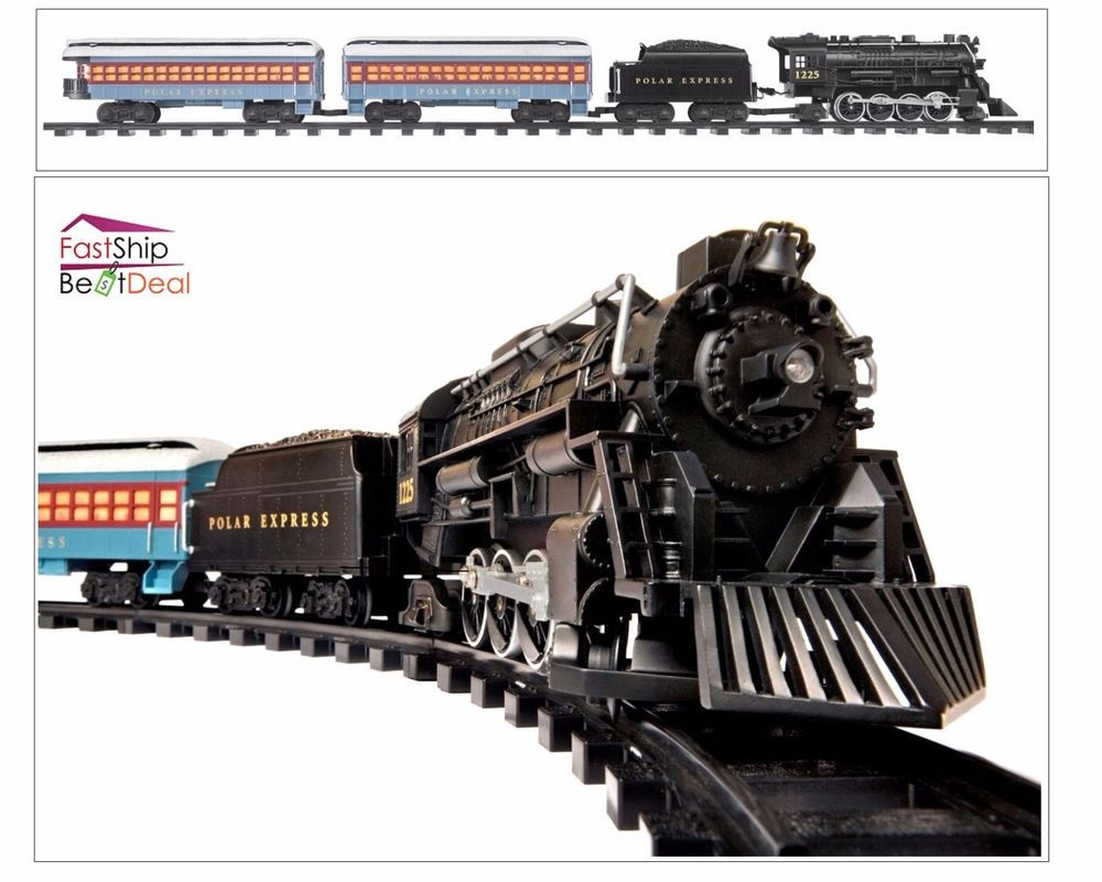 G Gauge Scale Train Set RC Remote Control 3 Polar Express Figures ...