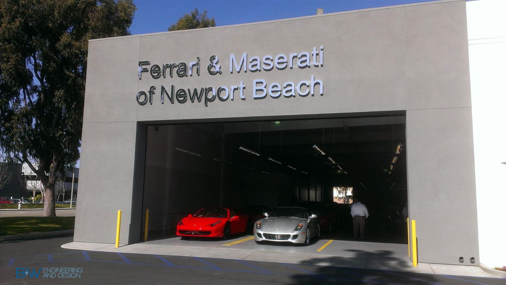 Ferrari Of Newport Beach Service Center Newport Beach Beach Ferrari