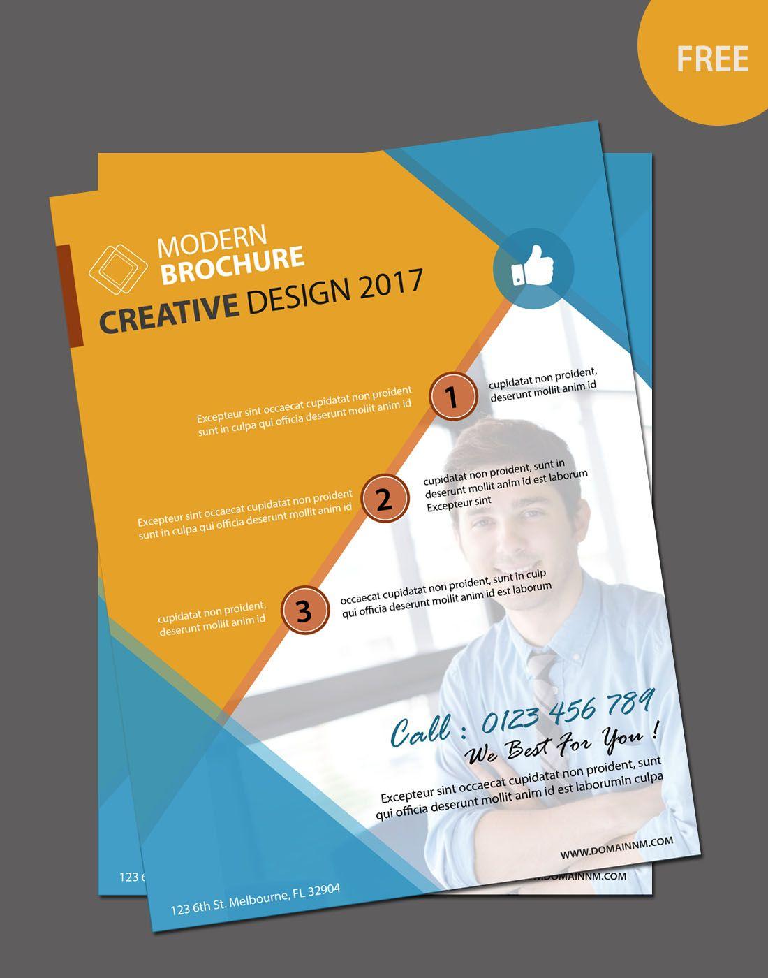 free editable brochure template   free brochure templates ...