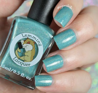 Lemming Lacquer Sploosh | Damn It, I Had Something For This: Part Two