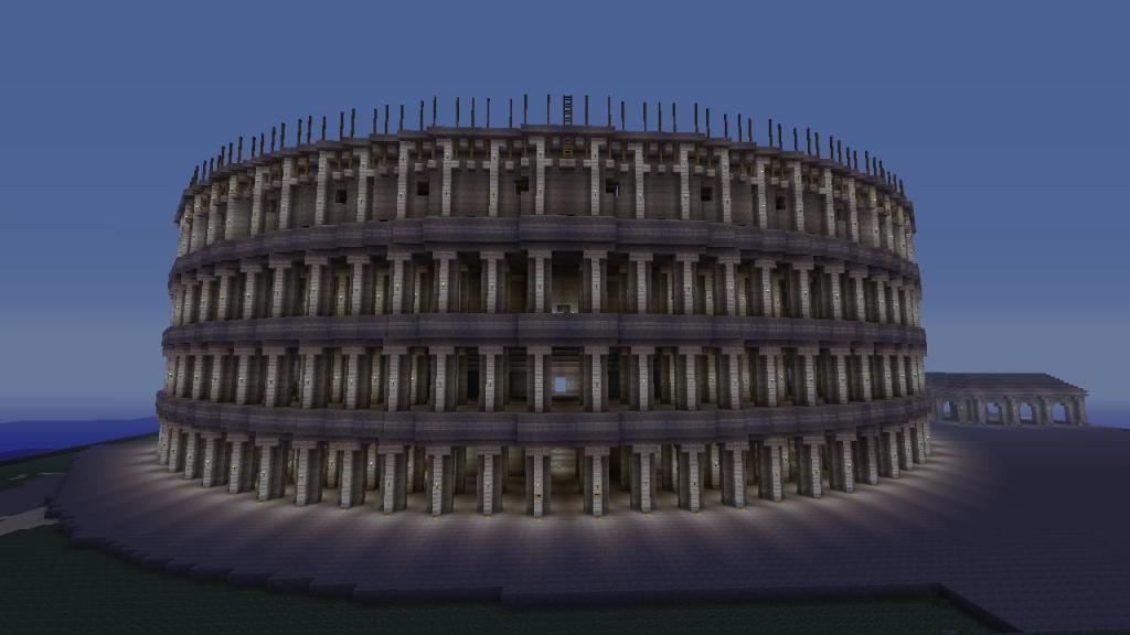 minecraft roman colosseum - Google Search | minecraft stuff