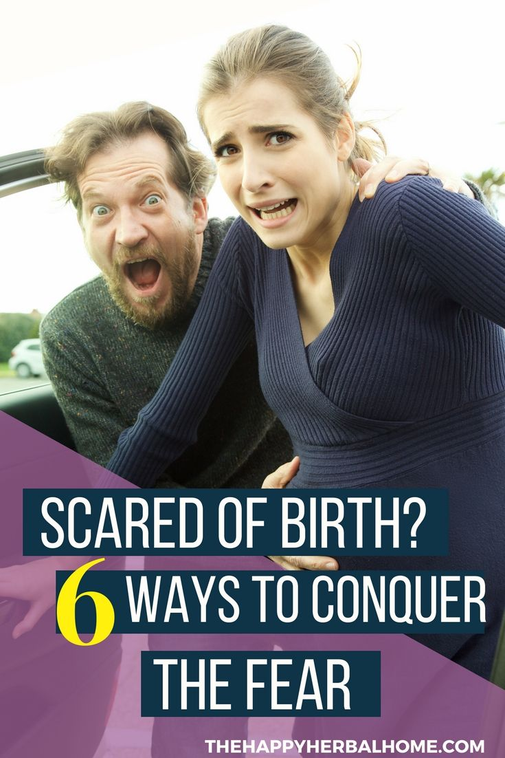 Why is it scary to give birth