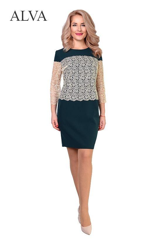 8772e97c1d6 Приталенный силуэт платья Мелони 8453-1 отлично подчеркивает все  достоинства фигуры. Платье выполнено из
