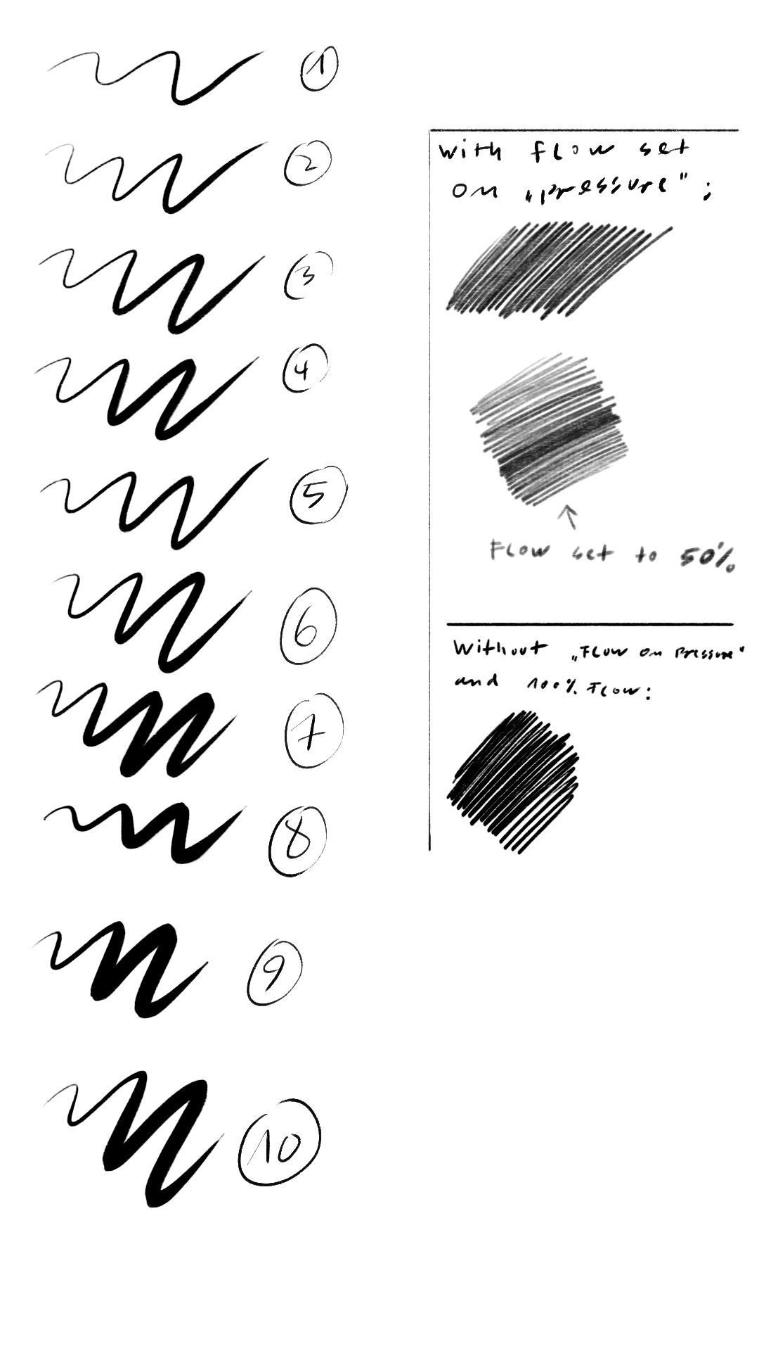 Carbon Pencil Brushes 2013 V 1 by