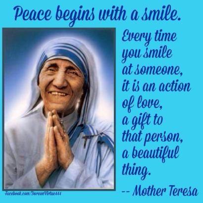 Mutter Teresa Gebete