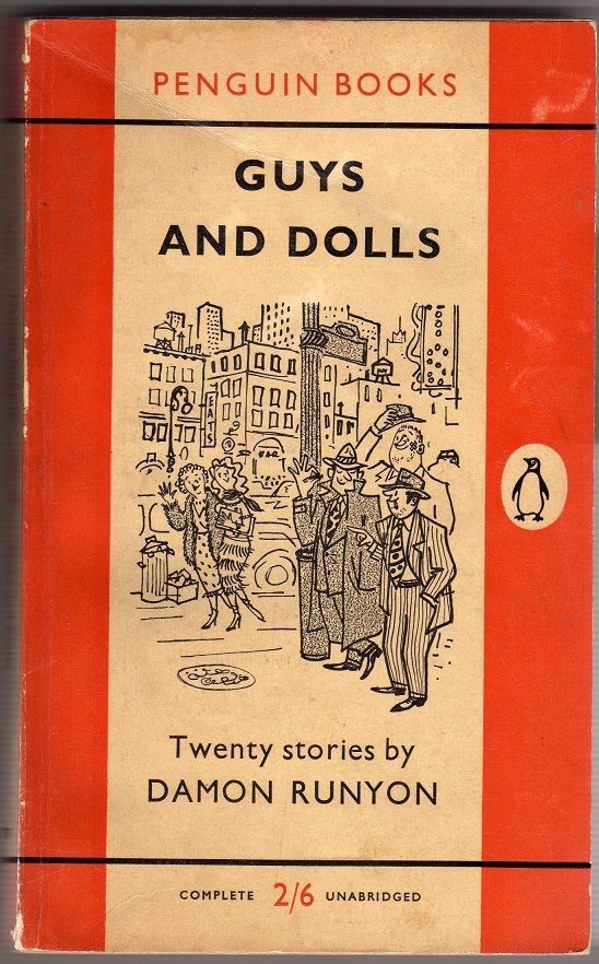 Image result for guys and dolls paperback