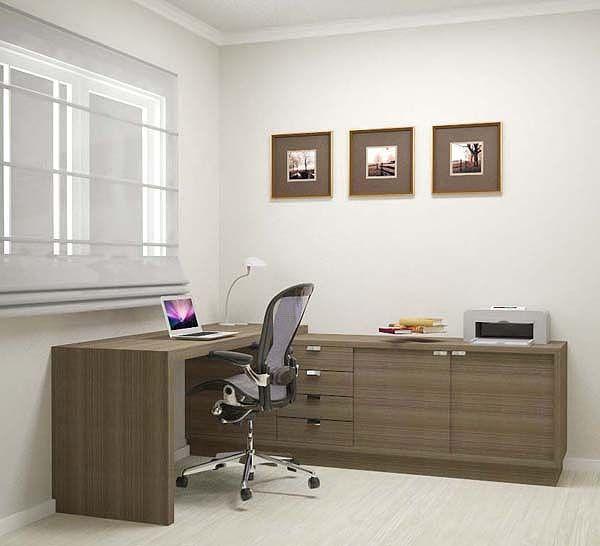 Home Office I9 Móveis Planejados home office  ~ Quarto Solteiro Escritorio