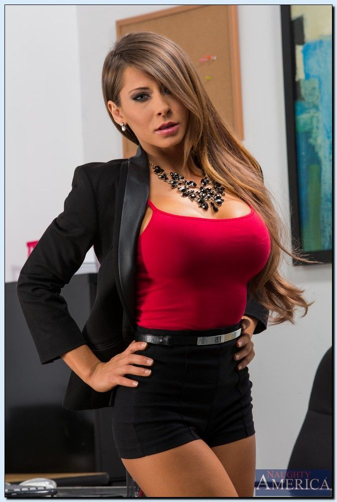 Madison Ivy per Naughty America Office Madison Ivy-2653