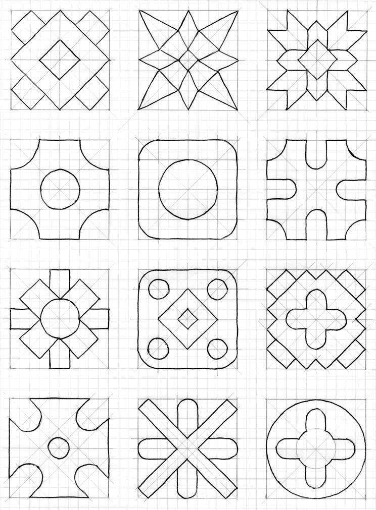 Pin de Raffaella Tranquillo en drawings | Cuadricula, Dibujos en ...