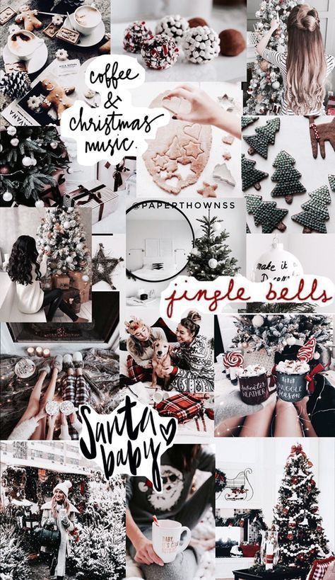 26+ trendy aesthetic christmas wallpaper collage