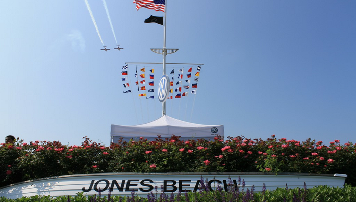 Jones Beach Air Show Memorial Day weekend tradition. (With