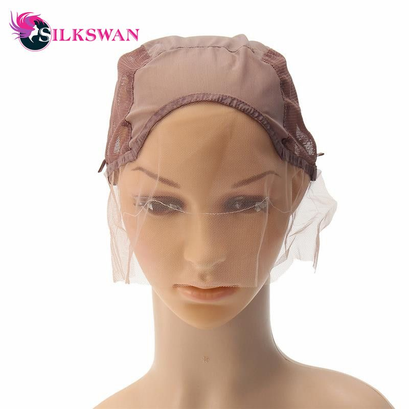 Hot Sale Lace Front Wig Caps For Making Wigs With Adjustable Strap Weaving Cap Tools Hair Net Hairnets 10 95 Lace Front Wigs Wig Caps Wigs