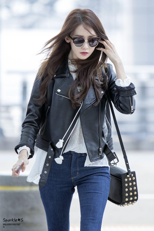 Korean Fashion Woman Yoona Airport Fashion Korean Fashion Pinterest Airport Fashion Yoona