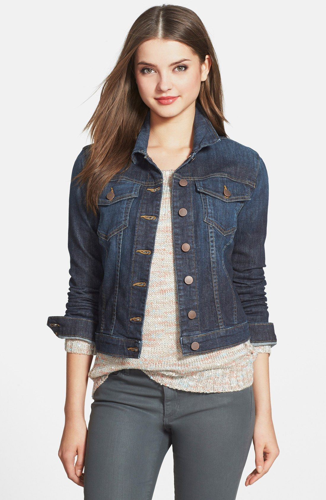 Creating Your Core Closet | Jackets for women, Blue jeans and Layering