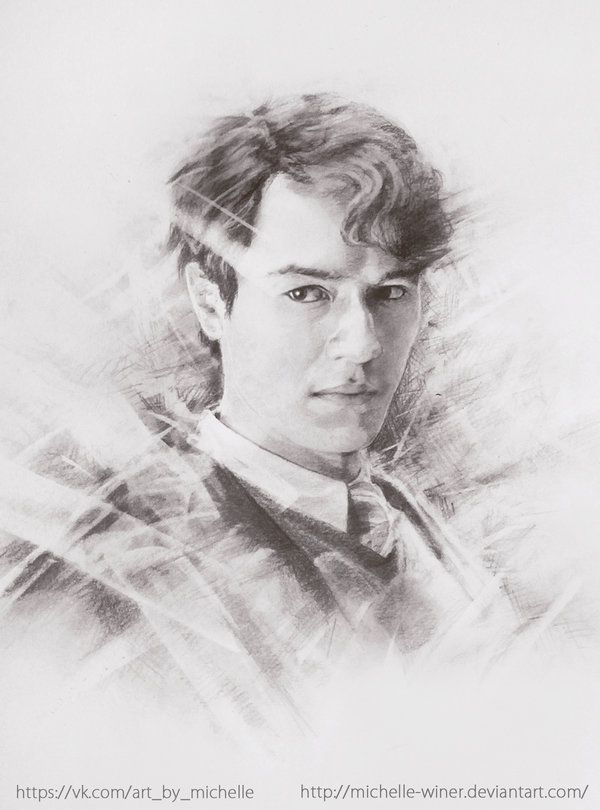 Tom Riddle By Michelle Winer On Deviantart Harry Potter Drawings Harry Potter Artwork Harry Potter Painting