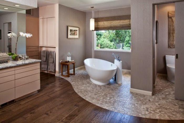 ▷ 1001+ Ideen für Badezimmer ohne Fliesen - ganz kreativ - badezimmerwände ohne fliesen