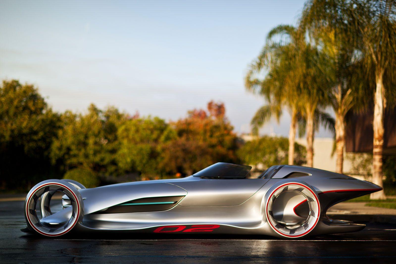 La Design Challenge 2011 Mercedes Benz Silver Arrow Concept Concept Cars Futuristic Cars Expensive Cars