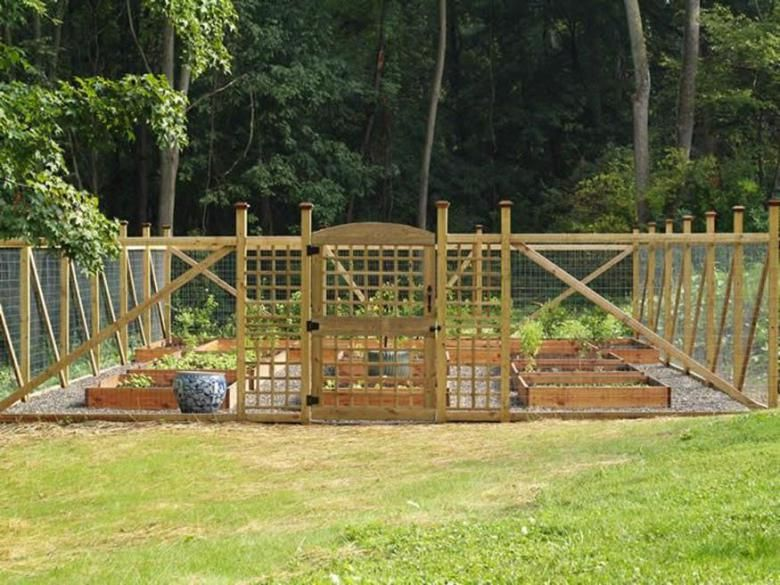 34 Perfect Fencing Ideas For Vegetable Gardens Fenced Vegetable
