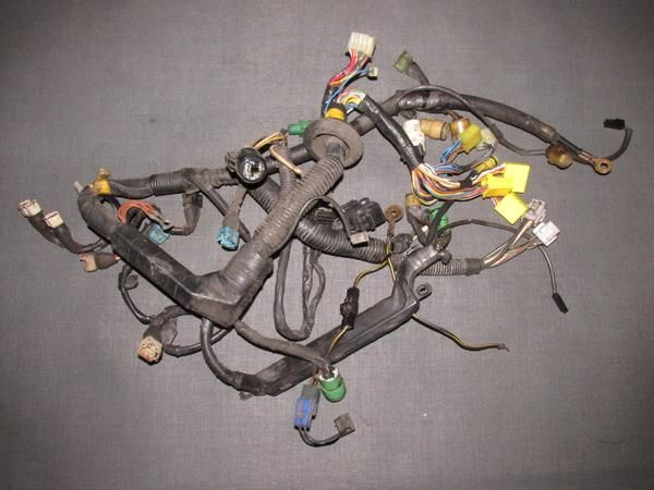 85 86 87 88 89 Toyota MR2 OEM 4AGE Engine Wiring Harness ... Mr Wiring Harness on 300zx wiring harness, cavalier wiring harness, 4runner wiring harness, eclipse wiring harness, camaro wiring harness, fj cruiser wiring harness, lexus wiring harness, sprinter wiring harness, bmw wiring harness, s2000 wiring harness, tundra wiring harness, crown wiring harness, avalon wiring harness, land cruiser wiring harness, rx8 wiring harness, toyota wiring harness, prius wiring harness, mustang wiring harness, 240sx wiring harness, honda wiring harness,