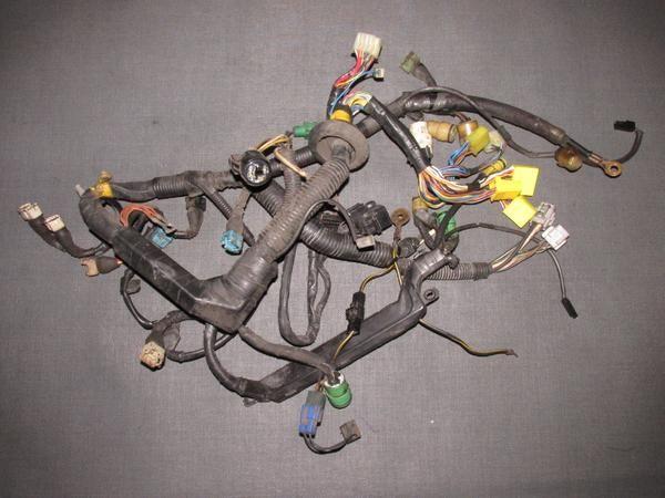 85 86 87 88 89 toyota mr2 oem 4age engine wiring harness engine rh pinterest com