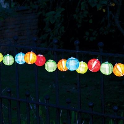 10 Outdoor Chinese Lantern Led Solar String Lights Practical Stuff 2 String Lights Outdoor Solar Led String Lights Solar String Lights