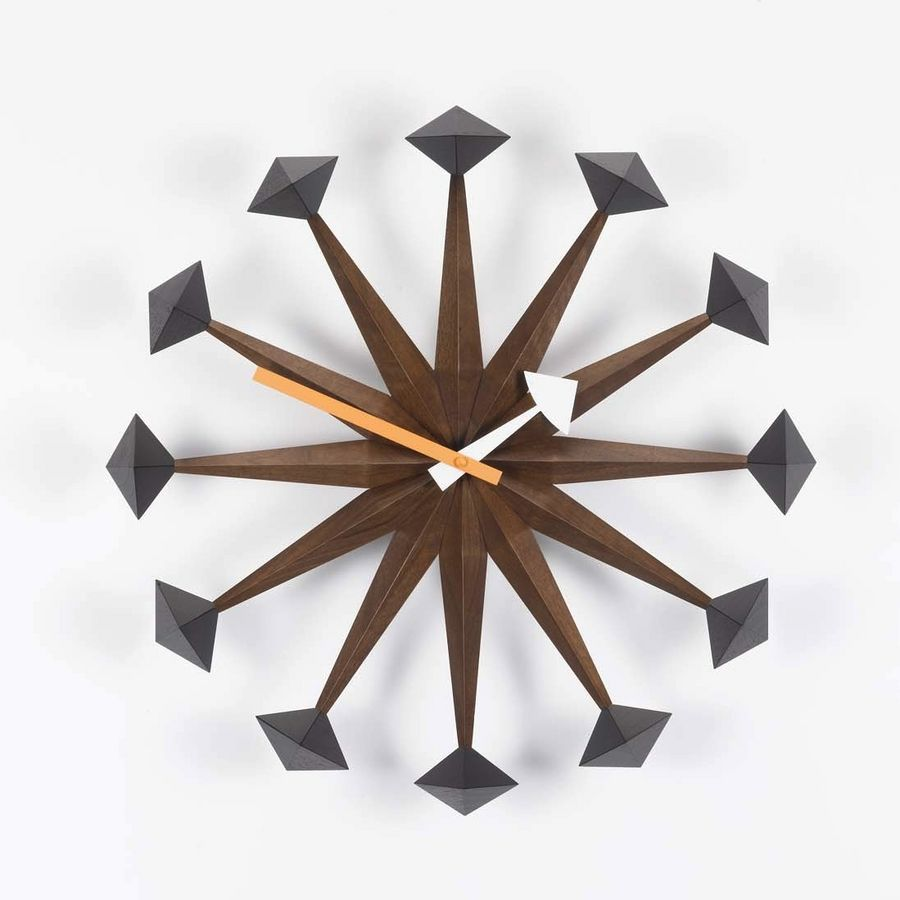 Vitra Polygon Clock by George Nelson  Vitra