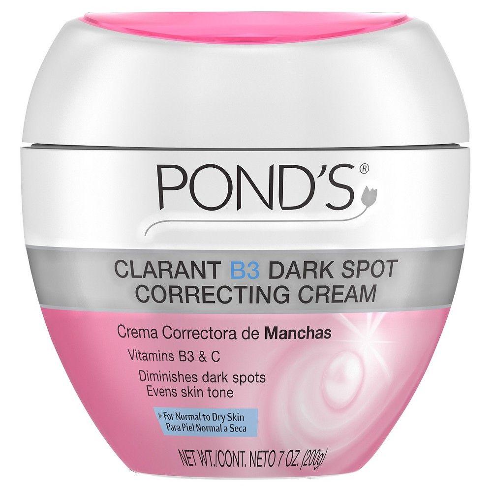 Pond S Correcting Cream Clarant B3 Dark Spot Normal To Dry Skin 7oz In 2021 Skin Cream Face Lotion Moisturizer For Dry Skin